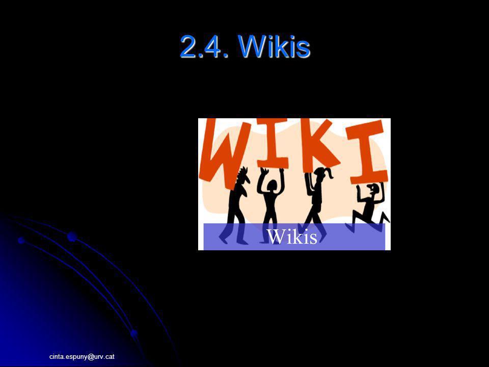 2.4. Wikis 4. Wikis 4.1. Definición