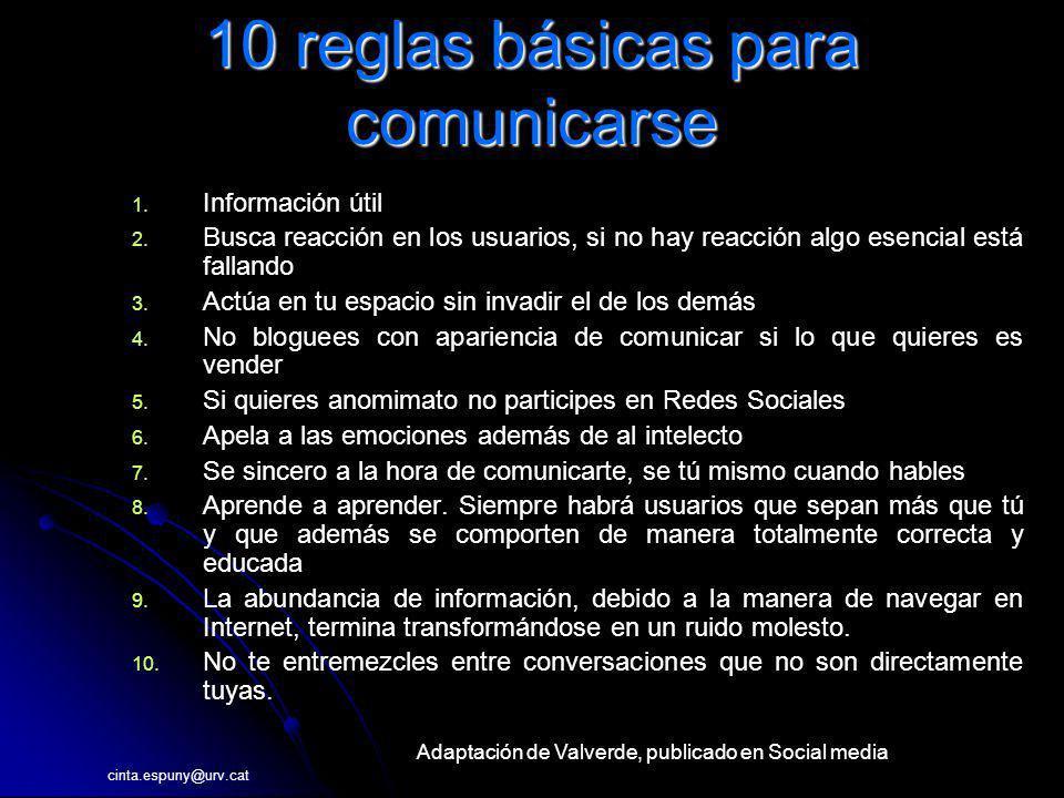 10 reglas básicas para comunicarse
