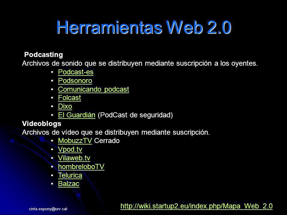 Herramientas Web 2.0 Podcasting