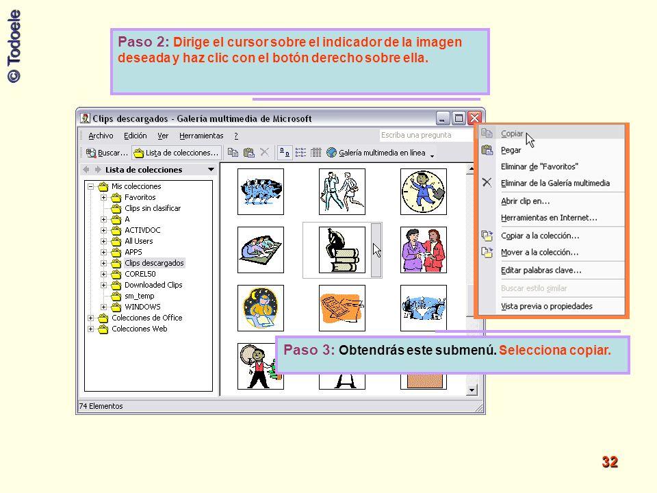 Paso 2: Dirige el cursor sobre el indicador de la imagen deseada y haz clic con el botón derecho sobre ella.