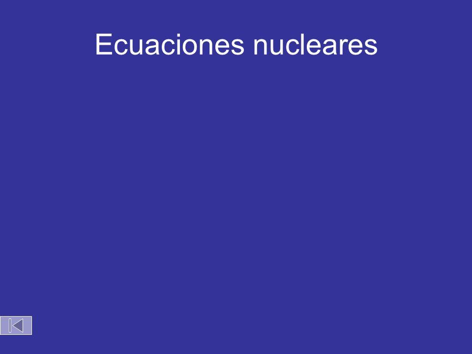 Ecuaciones nucleares