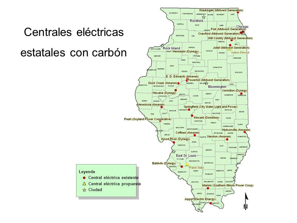 Centrales eléctricas estatales con carbón