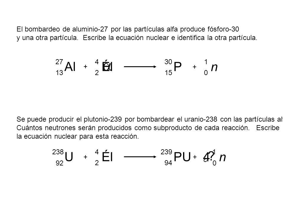 Ecuaciones nucleares ppt descargar for Como se escribe beta