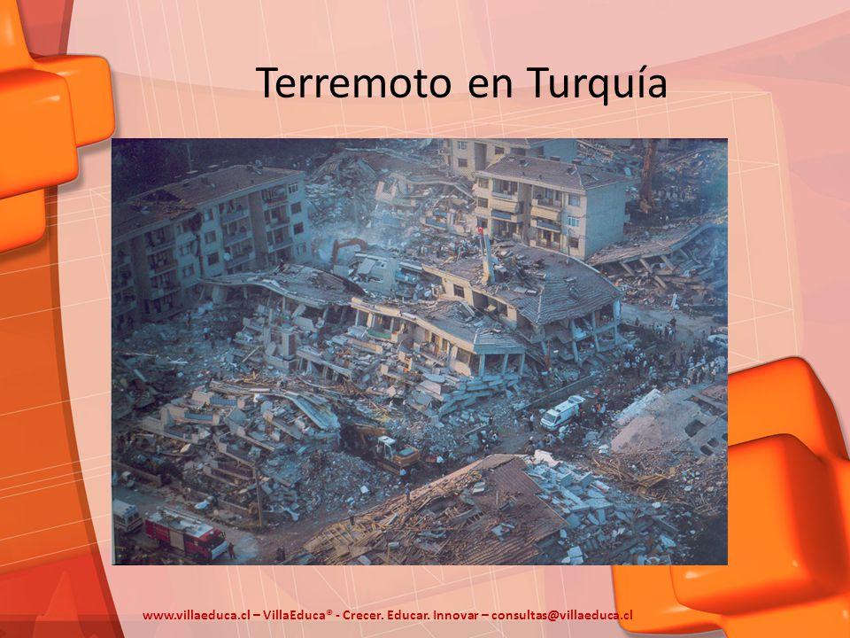 Terremoto en Turquía www.villaeduca.cl – VillaEduca® - Crecer.