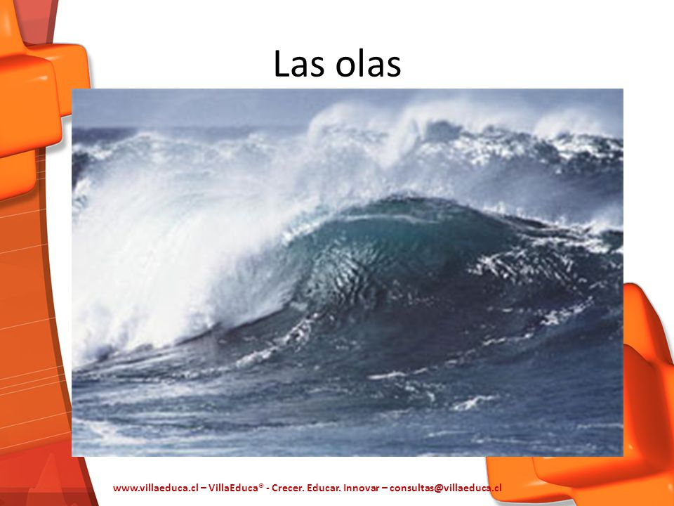 Las olas www.villaeduca.cl – VillaEduca® - Crecer. Educar. Innovar – consultas@villaeduca.cl