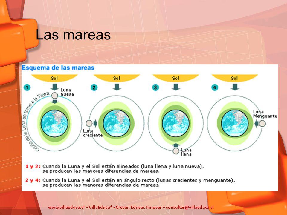 Las mareas www.villaeduca.cl – VillaEduca® - Crecer. Educar. Innovar – consultas@villaeduca.cl
