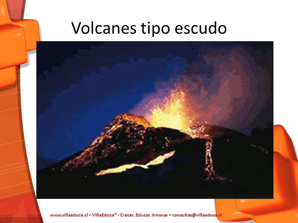 Volcanes tipo escudo www.villaeduca.cl – VillaEduca® - Crecer.