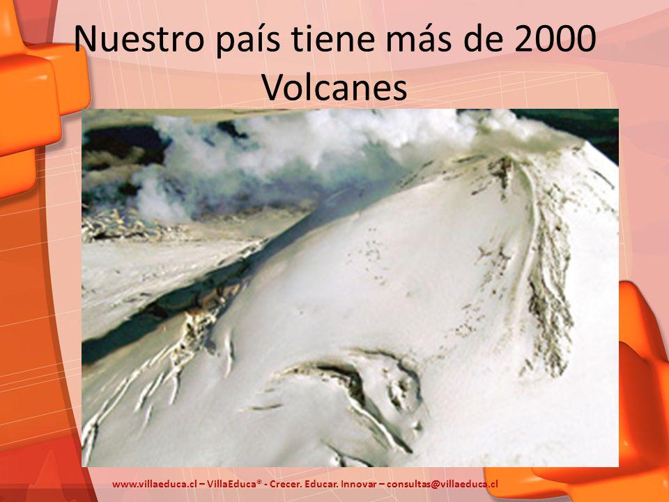 Nuestro país tiene más de 2000 Volcanes