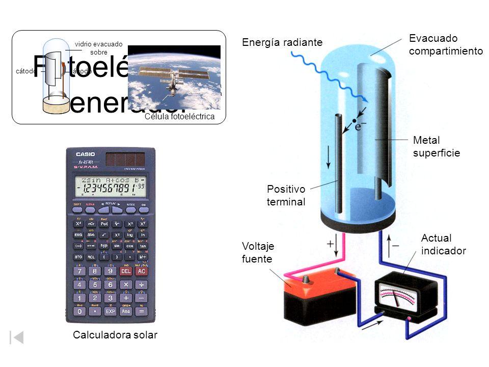 Fotoeléctrico Generador