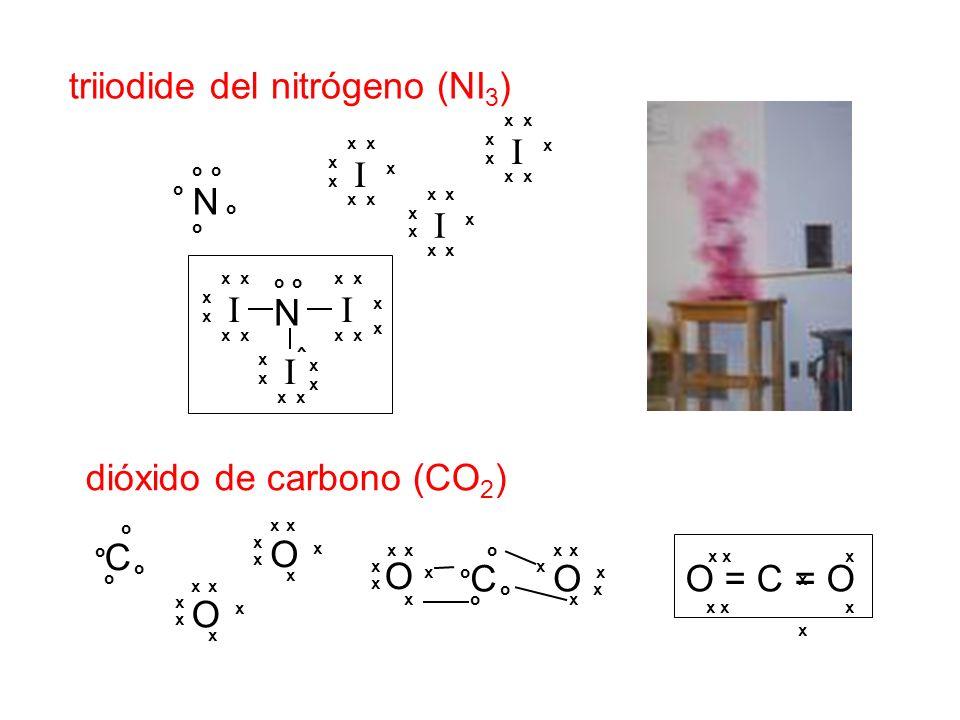 triiodide del nitrógeno (NI3)