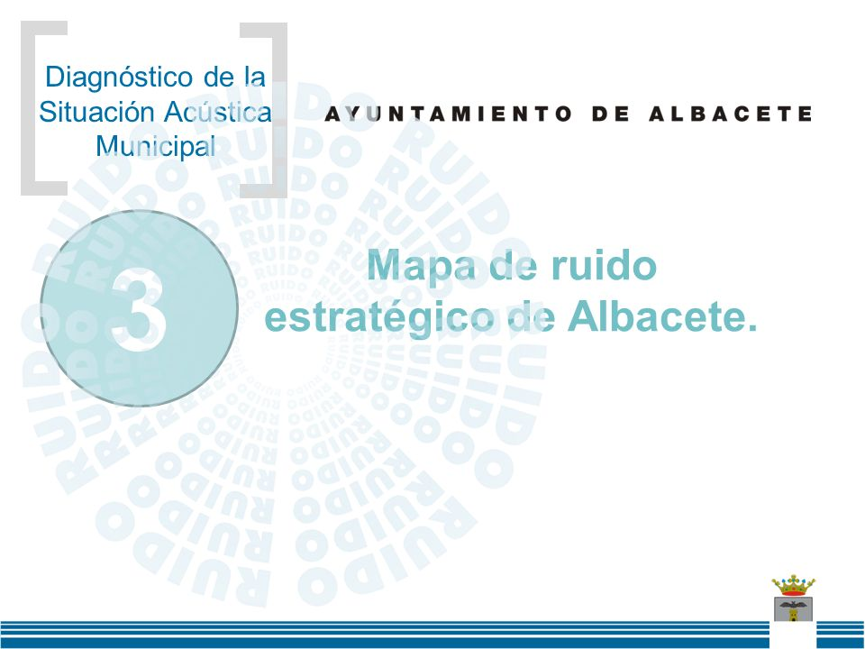 Mapa de ruido estratégico de Albacete.