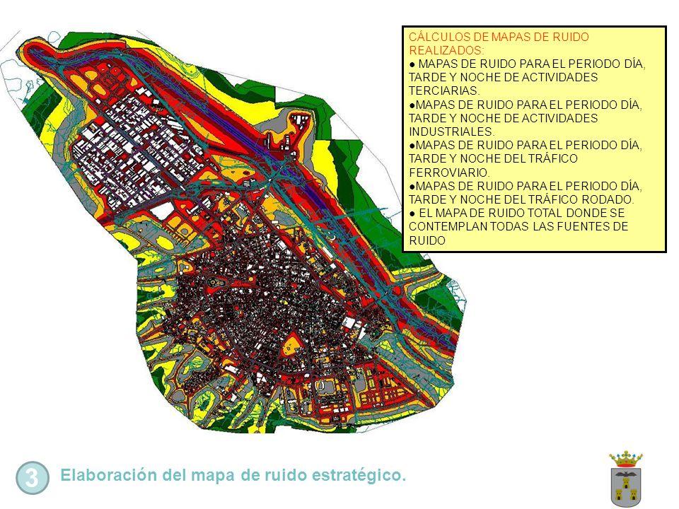 3 Elaboración del mapa de ruido estratégico.