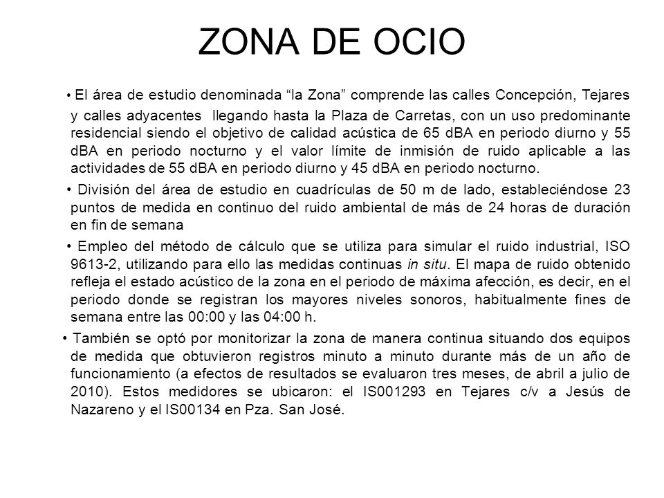 ZONA DE OCIO