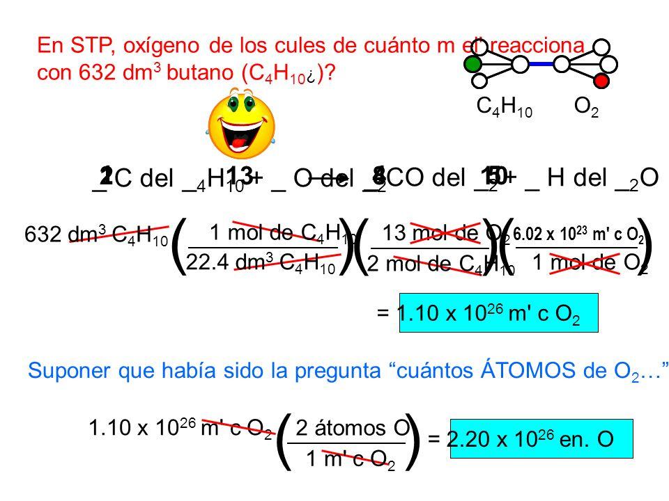 ( ) ( ) ( ) ( ) _ C del _4H10 + _ O del _2 1 2 13