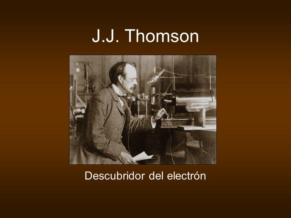Descubridor del electrón