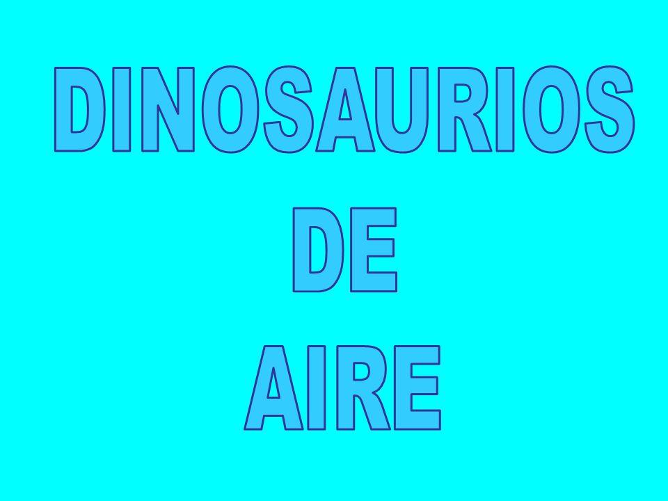 DINOSAURIOS DE AIRE