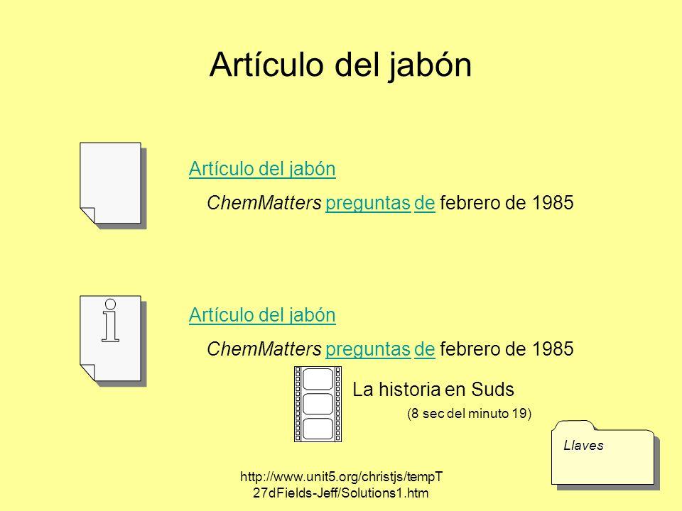 Artículo del jabón Artículo del jabón