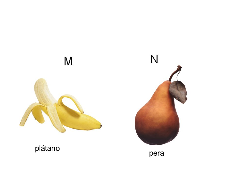 plátano pera