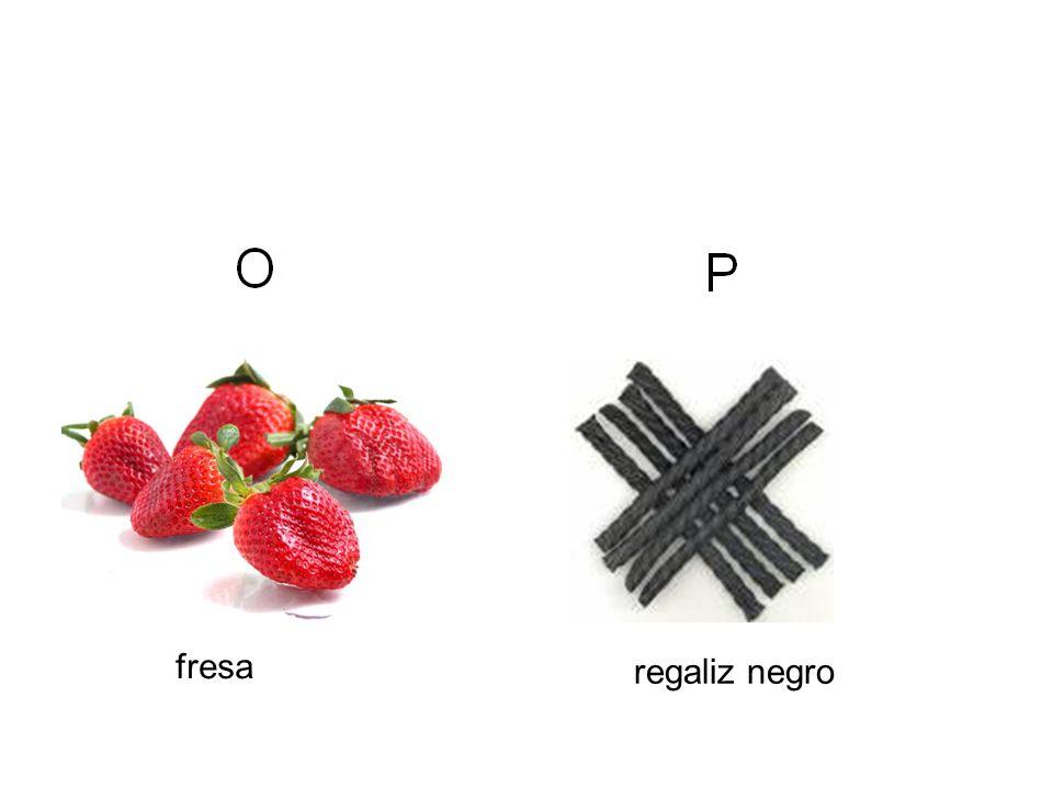 fresa regaliz negro