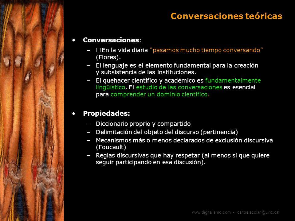 Conversaciones teóricas