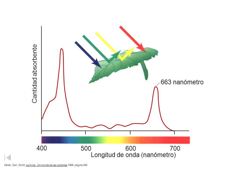 Longitud de onda (nanómetro)