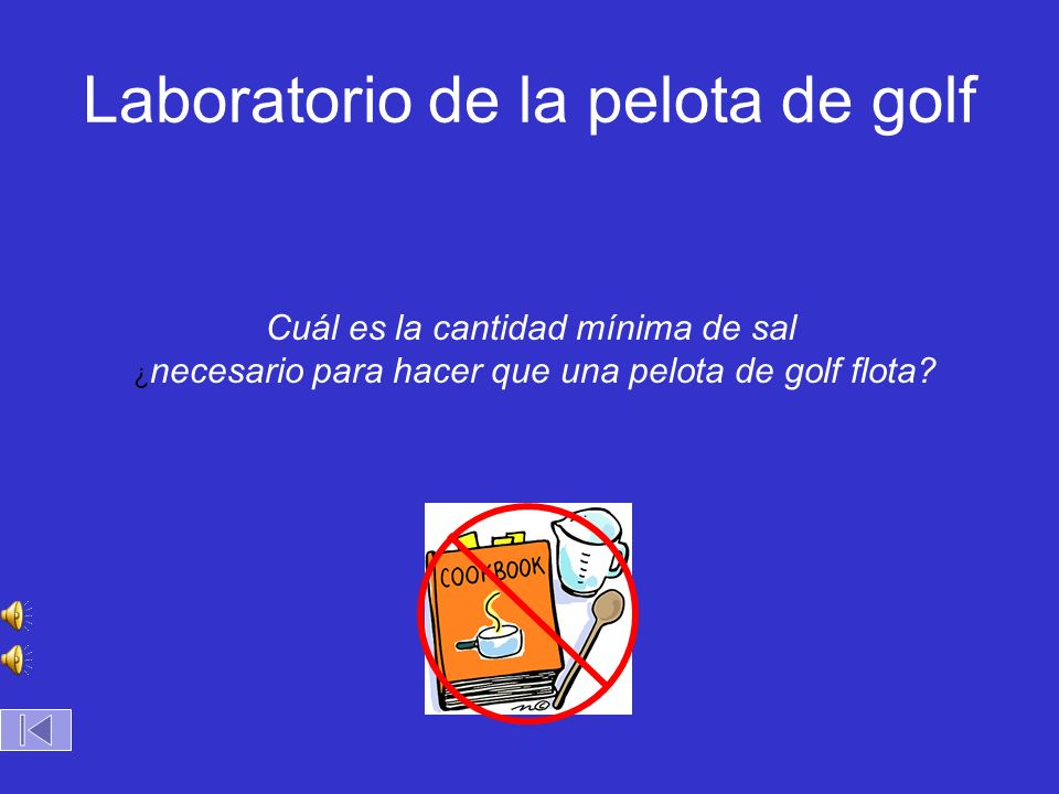Laboratorio de la pelota de golf