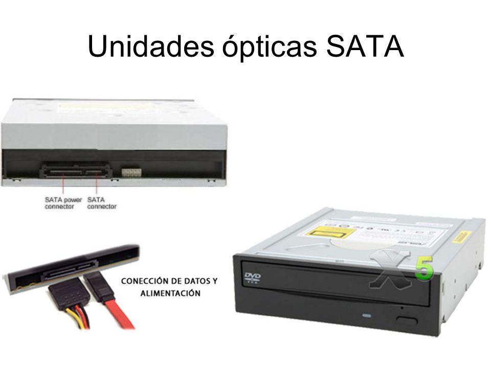 Unidades ópticas SATA
