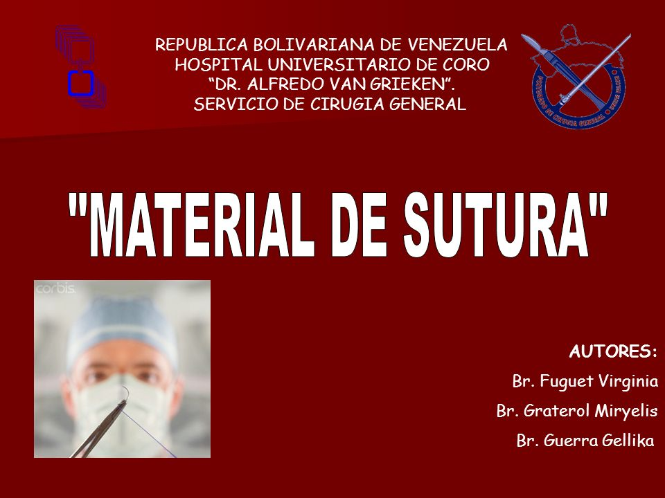 REPUBLICA BOLIVARIANA DE VENEZUELA HOSPITAL UNIVERSITARIO DE CORO