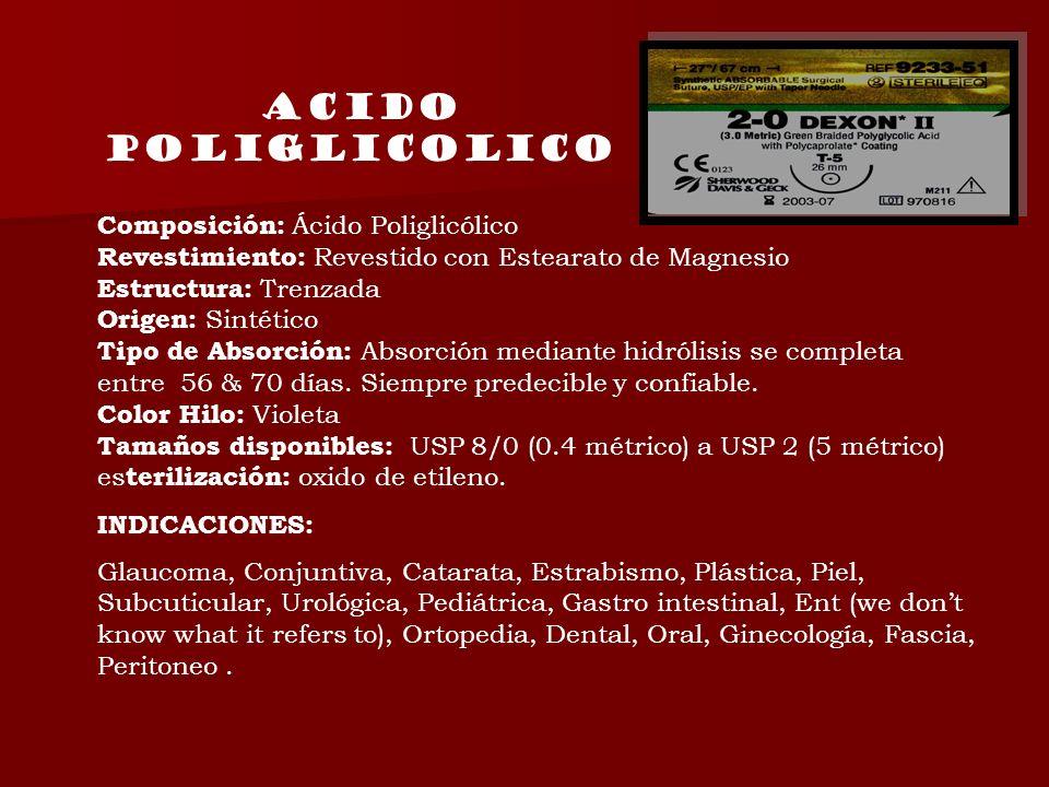 Acido poliglicolico