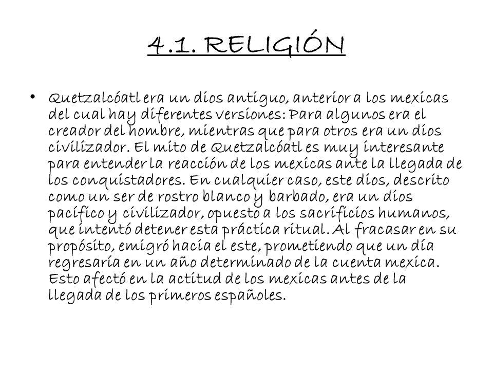 4.1. RELIGIÓN