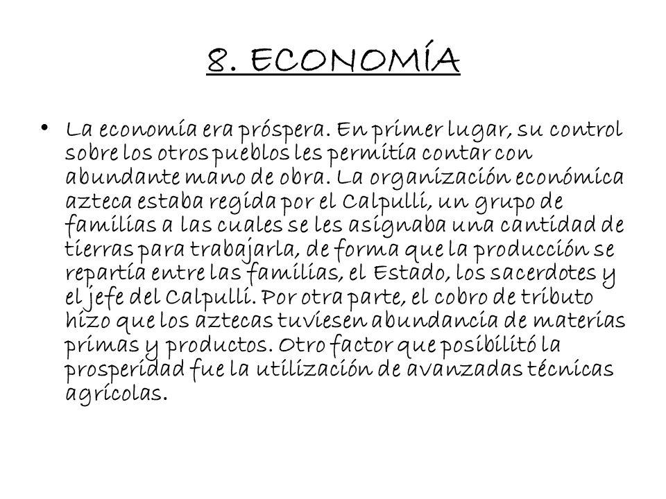 8. ECONOMÍA