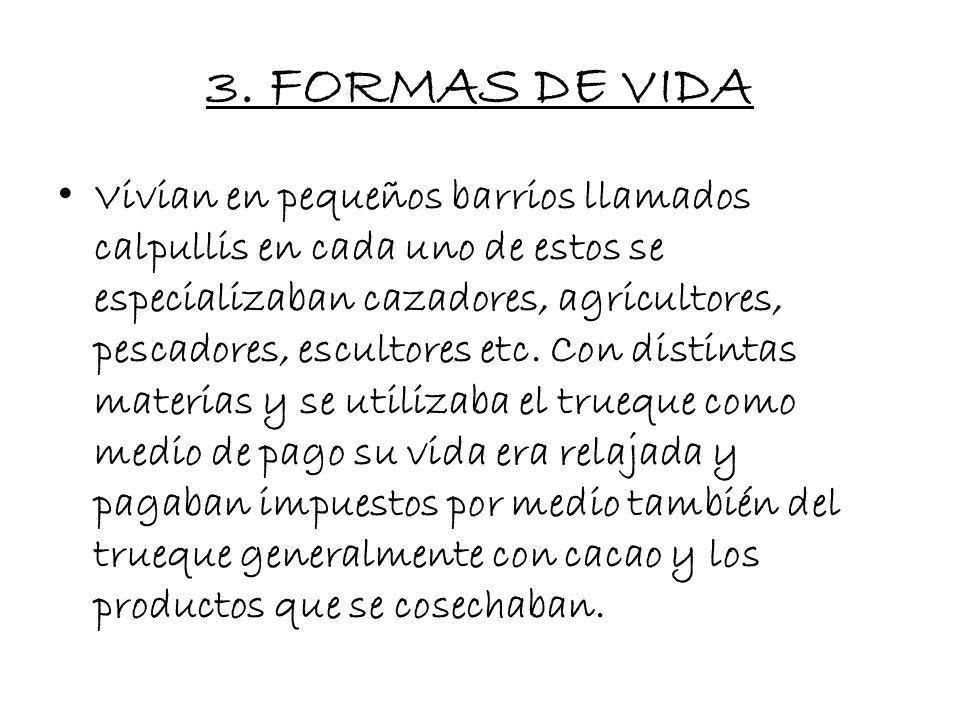 3. FORMAS DE VIDA