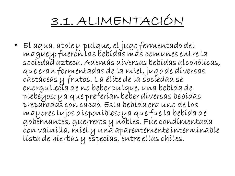 3.1. ALIMENTACIÓN