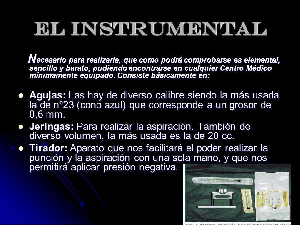 EL INSTRUMENTAL