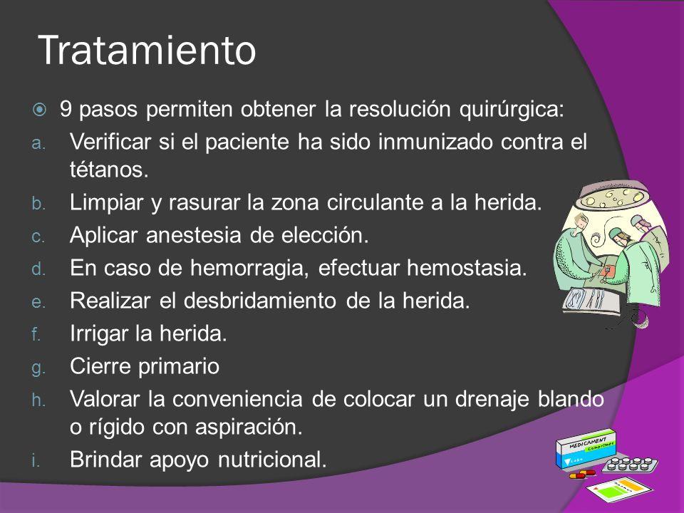 Tratamiento 9 pasos permiten obtener la resolución quirúrgica: