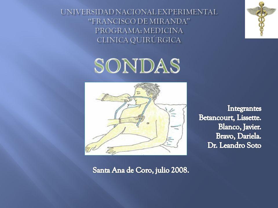UNIVERSIDAD NACIONAL EXPERIMENTAL FRANCISCO DE MIRANDA PROGRAMA: MEDICINA CLINICA QUIRÚRGICA