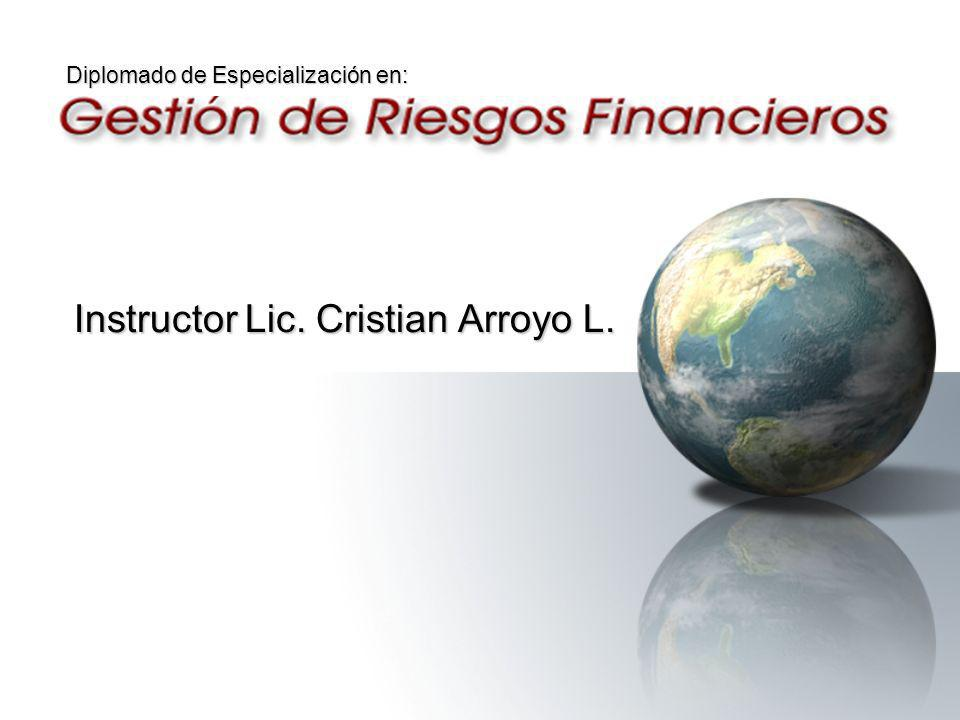 Instructor Lic. Cristian Arroyo L.