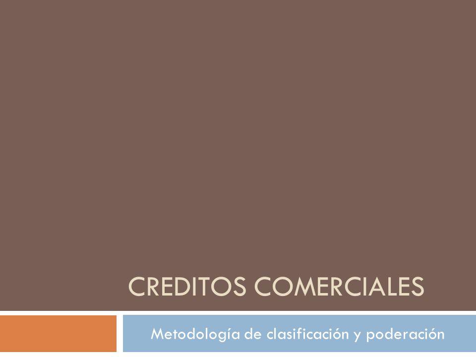 Metodología de clasificación y poderación