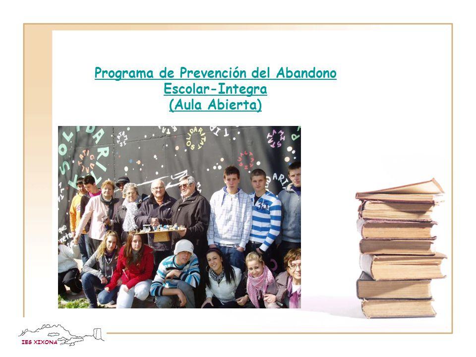 Programa de Prevención del Abandono Escolar-Integra (Aula Abierta)