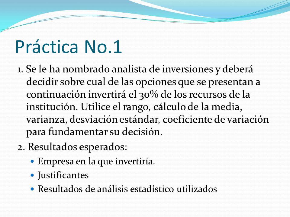 Práctica No.1