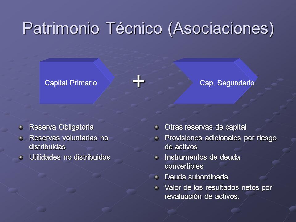 Patrimonio Técnico (Asociaciones)