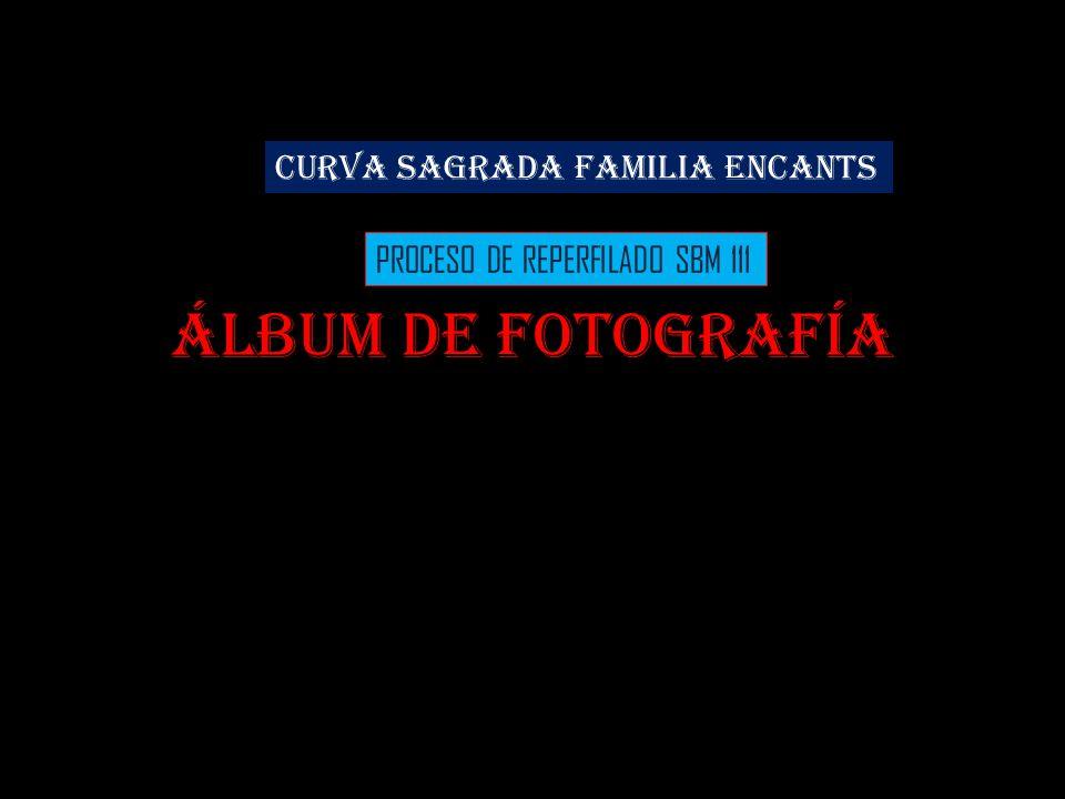 Álbum de fotografía CURVA SAGRADA FAMILIA ENCANTS