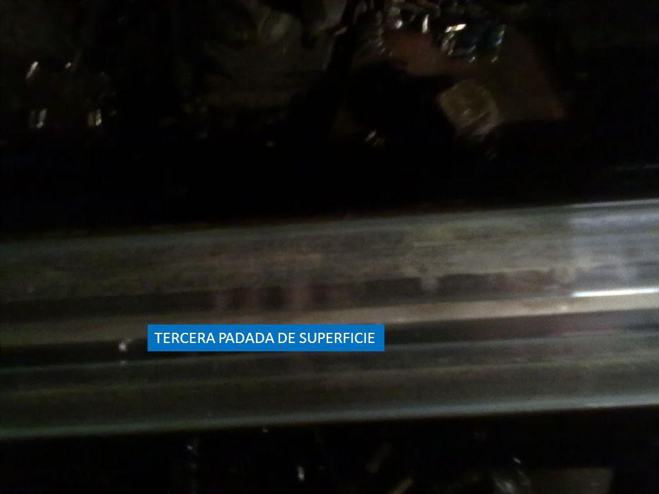 TERCERA PADADA DE SUPERFICIE