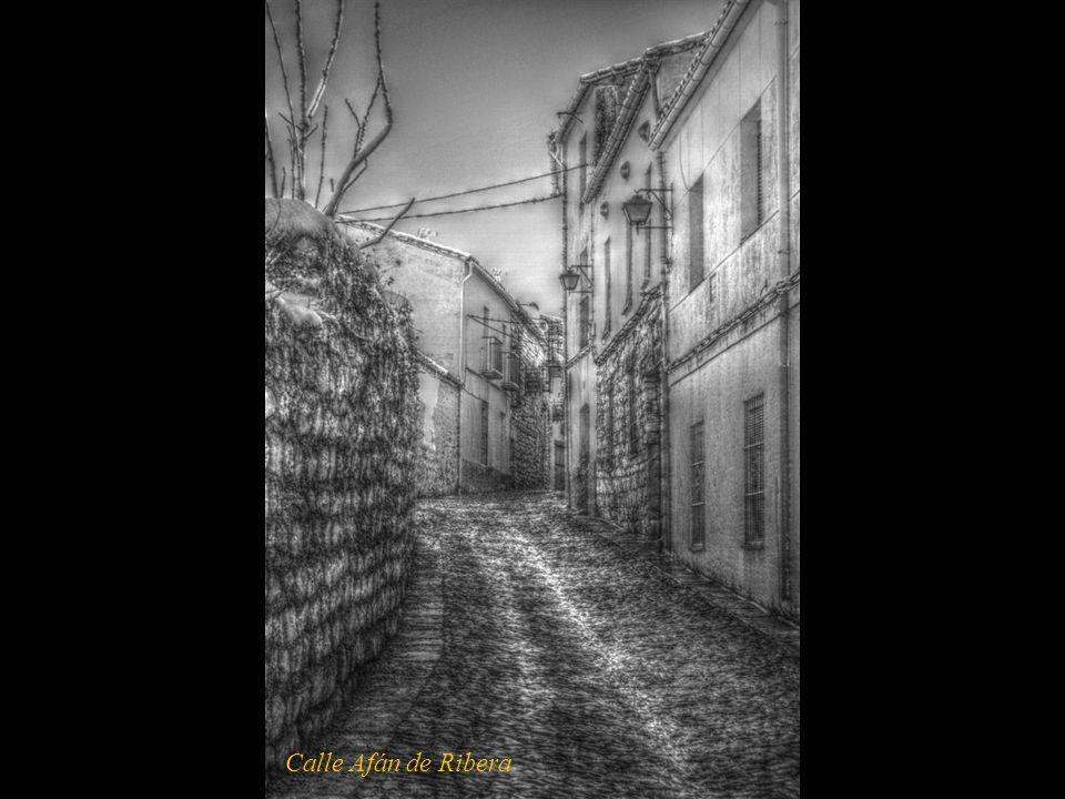 Calle Afán de Ribera