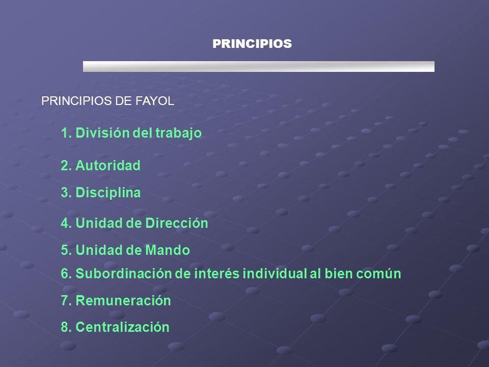 6. Subordinación de interés individual al bien común