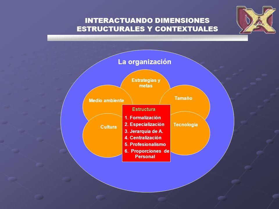 INTERACTUANDO DIMENSIONES ESTRUCTURALES Y CONTEXTUALES