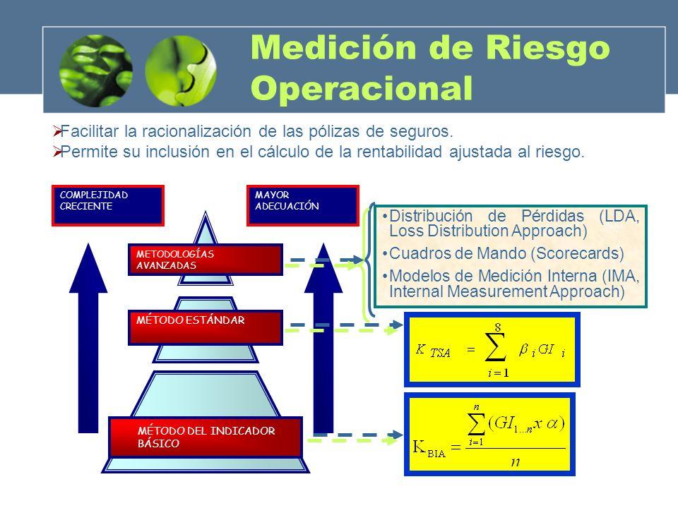 Medición de Riesgo Operacional