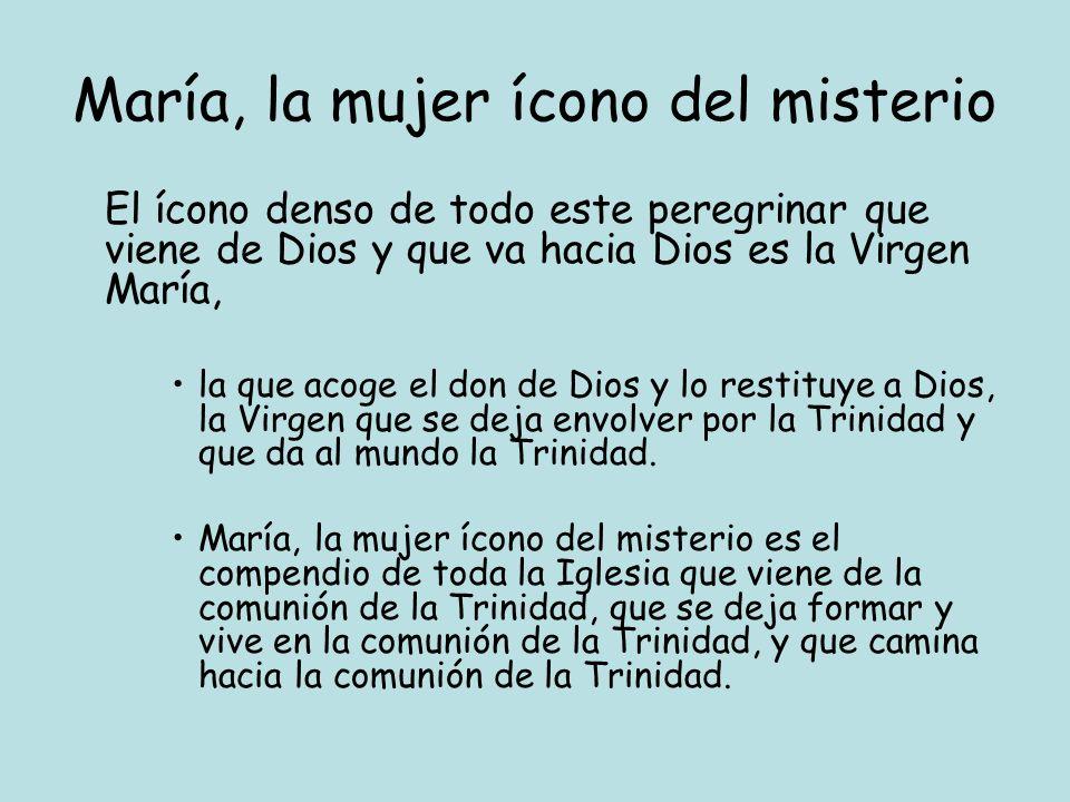 María, la mujer ícono del misterio