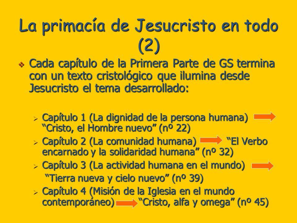 La primacía de Jesucristo en todo (2)