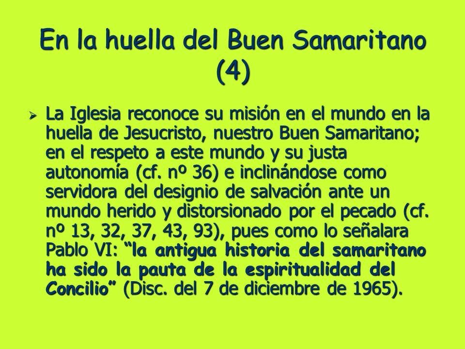 En la huella del Buen Samaritano (4)